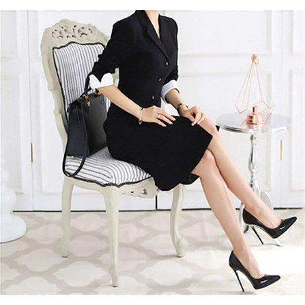 素敵なフォーマルブラックドレス